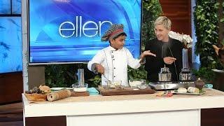 6-Year-Old Chef Kicha Cooks with Ellen