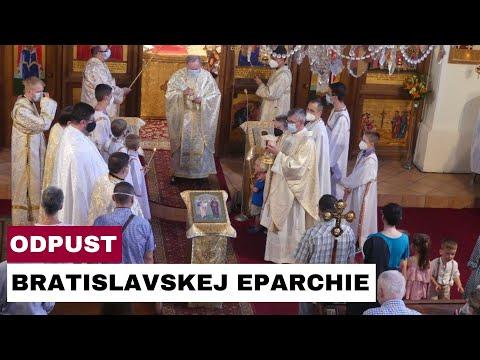 ODPUST NA SVIATOK PATRÓNOV BRATISLAVSKEJ EPARCHIE