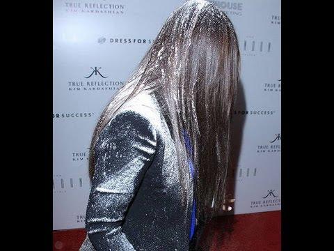 Kim Kardashian Flour Bomb By Hater From PETA