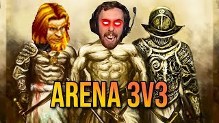 Asmongold & Mcconnell - The LONG Road To Arena Gladiator (ft. Bngd - WoW PvP)