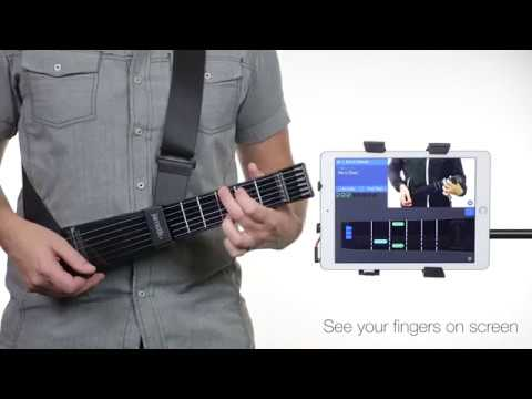 Wireless MIDI Electric Guitar for Beginners with App