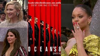 Oceans8PremiereInterviews-SandraBullock,Rihanna,CateBlanchett