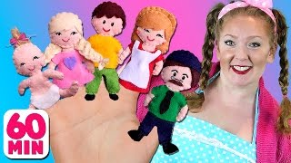 Finger Family and More Nursery Rhymes & Kids Songs | Bounce Patrol
