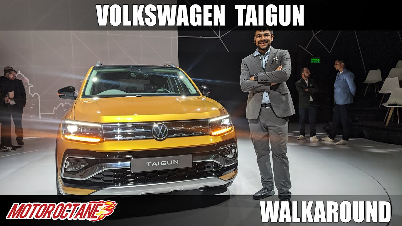 Motoroctane Youtube Video - VW Taigun - Brezza competition SUV - Hindi | Motoroctane