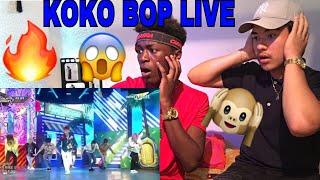 EXO-KOKO BOP LIVE PERFORMANCE (REACTION)