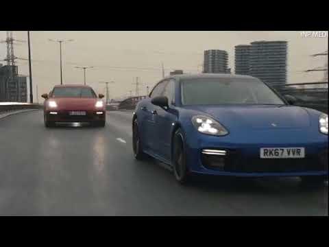 Конвой из трех Porsche Panamera перевозил золото в Лондоне