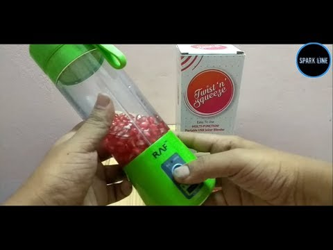 , USB Juicer Cup Fruit Juice Mixer