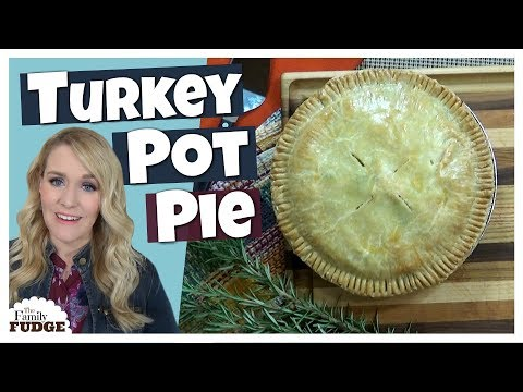 EASY Turkey Pot Pie + FREEZER MEAL    What to make with Thanksgiving Leftovers!