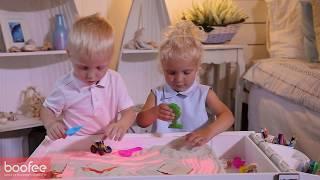 Cветовой стол для рисования песком Boofee. Вы только посмотрите, что умеет этот световой стол!!