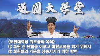 [도원(道圓)대학당 강의] 526 도원 축제와 워크숍의 의미
