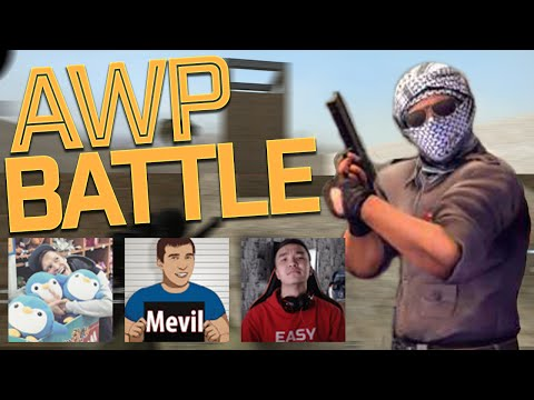 AWP BATTLE CSGO - nikstrelnikoff VS. Acool и MrMevil