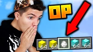 THIS IS SO OP!! (Minecraft Bed Wars)