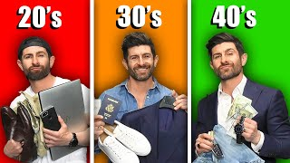 Items EVERY MAN Must Own by Age 20, 30 & 40!