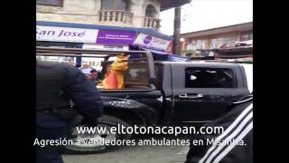 preview picture of video 'Agresión a ambulantes en Misantla'