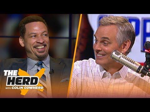 Chris Broussard thinks NBA players should get longer deals to stop trade demands | NBA | THE HERD