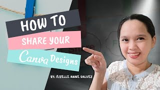 How to Share your Canva Designs to Others?