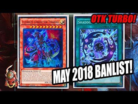 Yu-Gi-Oh! BEST! SHADDOLL DINOSAUR DECK PROFILE! MAY 21st, 2018 BANLIST!