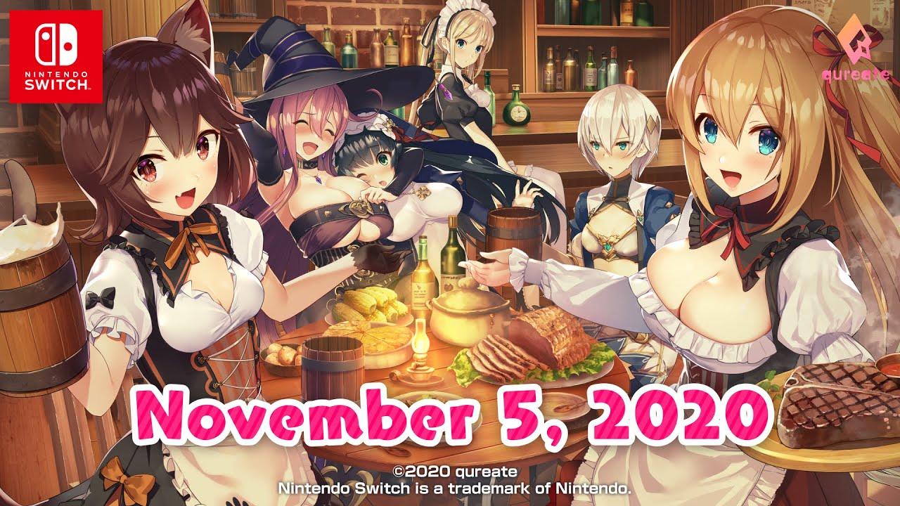 Qureate宣佈,《異世界酒場的六重奏 第一卷 新世界之日》將於11月5日登陸Switch平台,官方中文宣傳片一併公開。 Maxresdefault