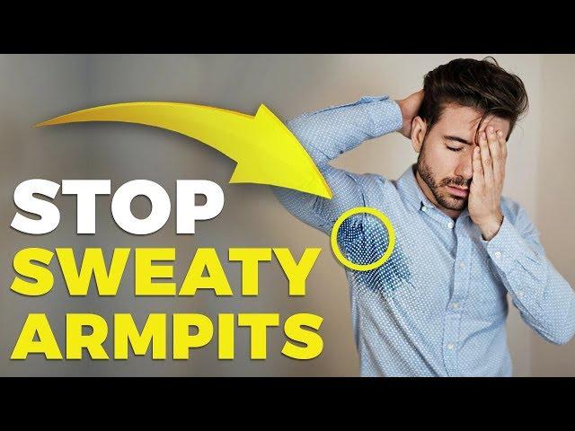 HOW TO STOP SWEATY ARMPITS | Alex Costa