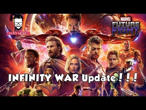 AVENGERS INFINITY WAR Update 4.0 Patch Notes - MARVEL Future Fight