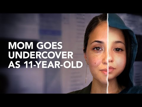 Mom poses as an 11-year-old girl to expose child predators on social media | Parent24
