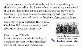 Business and Finance Lesson 5: Credit Sales, Credit Policies (Learn English)