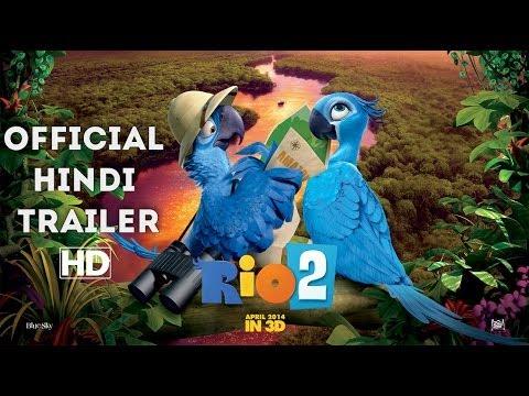 rio 2 official trailer hindi hd