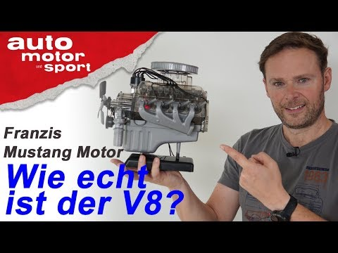 Wie Original ist das Modell? Mustang Motor von Franzis - Bloch spielt #3 | auto motor und sport