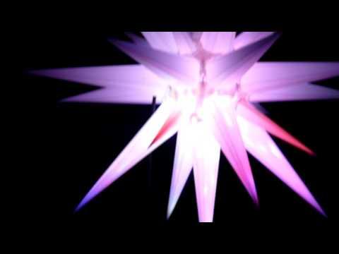 Weihnachtsaussenstern mit Lichteffekt Adventsstern Aussen LED