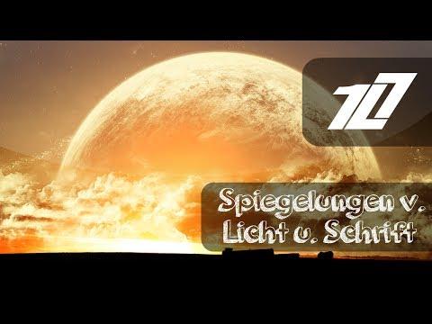 GIMP 2.8 Tutorial - Spiegelungen v. Licht u. Schrift  [Deutsch/German] | HD