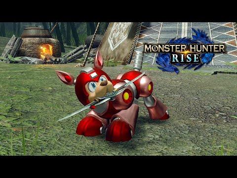 《魔物獵人 崛起》與同社遊戲《洛克人11》合作,加爾克化身萊西