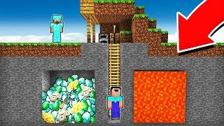 Minecraft - NOOB vs PRO : WHAT WILL YOU CHOOSE IN THIS MINE in Minecraft! Challenge 100% trolling