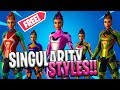 *NEW* Fortnite: 5 Selectable Styles For Singularity Skin Season 9 (Secret Skin Colors)