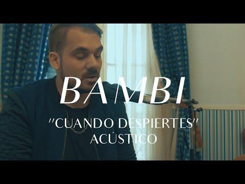 Bambi Moreno Charpentier video Cuando despiertes - CMTV Acústico 2017