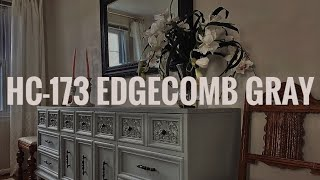 MY FAVORITE NEUTRAL COLOR FOR WALLS | BENJAMIN MOORE EDGECOMB GRAY