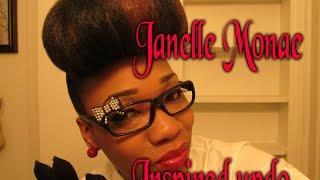 """""""janelle monae"""" Inspired updo ..."""