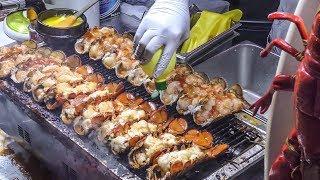 Best Korea Street Food In Seoul, Myeongdong District