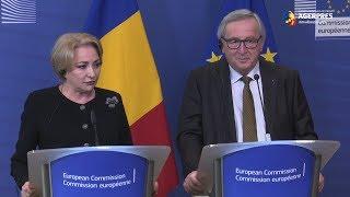 Juncker: Locul României clar este în spaţiul Schengen