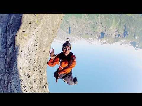 Soul Flyers Freefly BASE jump in Norway