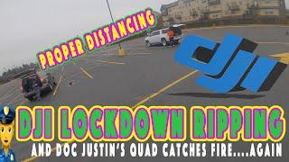 ????♀️DJI HD FPV - LOCKDOWN RIP with Doc Justin's FIRE Quad ????????????