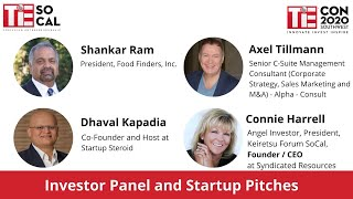 Investor Panel and Startup Pitches | TiEcon Southwest 2020