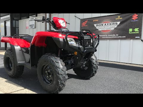 2021 Honda FourTrax Foreman 4x4 in Greenville, North Carolina - Video 1
