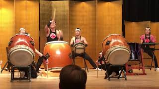 2017 October taiko drumming video