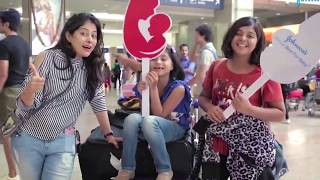 Johnson Baby CUTE Surprise For Little Customers At Mumbai Airport | What A Brand