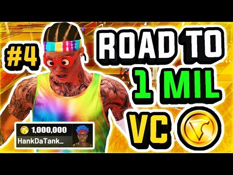 ROAD TO 1 MILLION VC w/ BEST PLAYSHARP IN NBA 2K19 AT THE STAGE #4