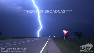 5-23-2019 Okmulgee, Ok tornado from drone and incredible lightning shots