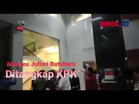 Mensos Juliari P. Batubara Ditangkap KPK