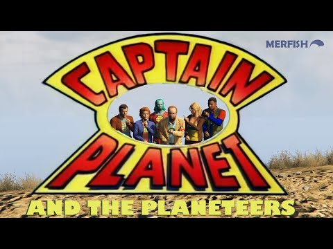 Captain Planet Saves The Day In GTA V