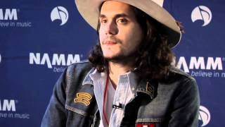John Mayer & Martin Guitar - At NAMM