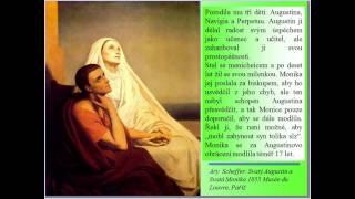 27/8. Církevní kalendář sv. Monika (Religious calendar)